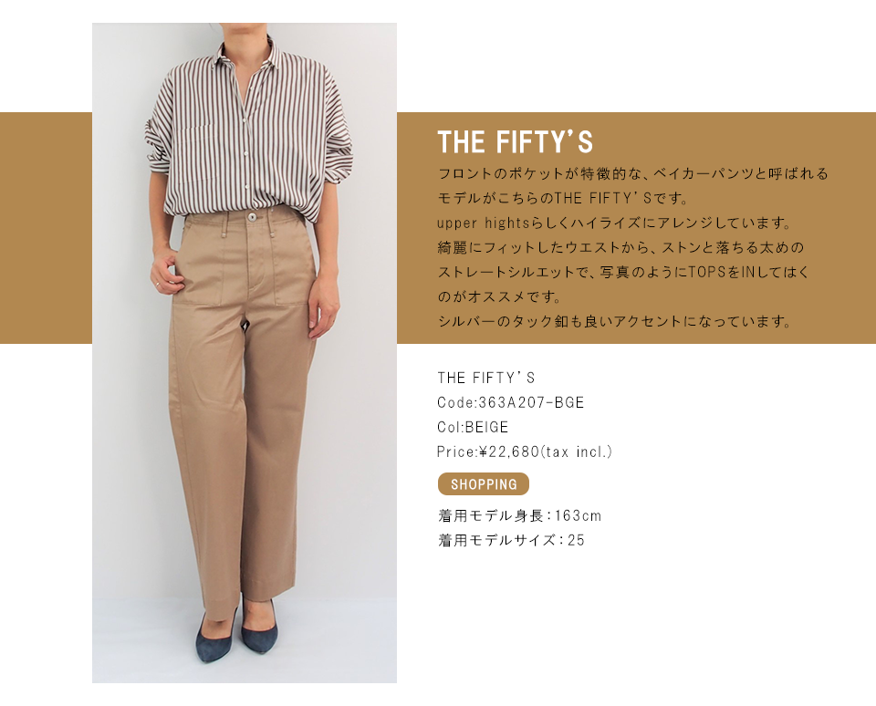 THE FIFTY'S 詳細