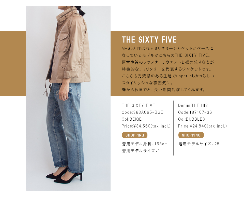 THE SIXTY FIVE 詳細